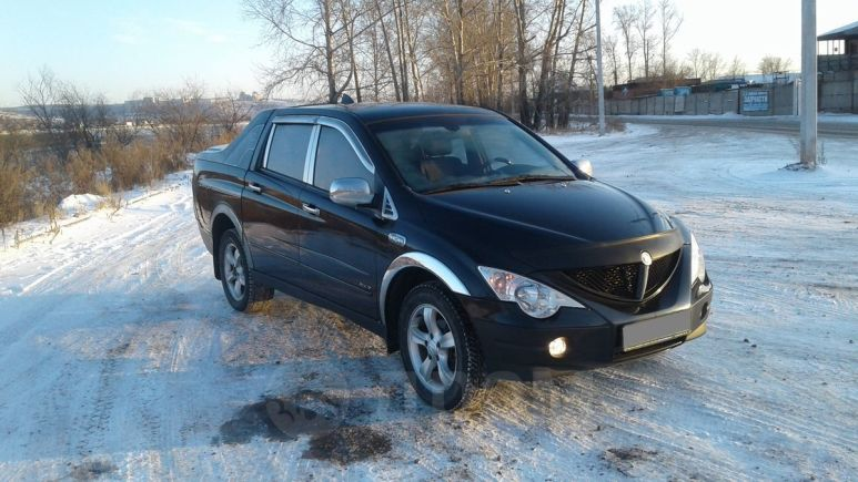 SsangYong Actyon Sports, 2008 год, 444 000 руб.