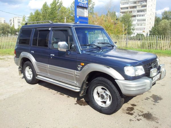 Hyundai Galloper, 1999 год, 290 000 руб.
