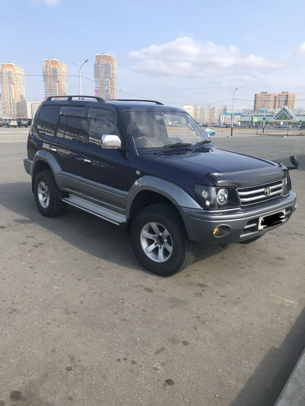 Toyota Land Cruiser Prado, 1997 год, 800 000 руб.