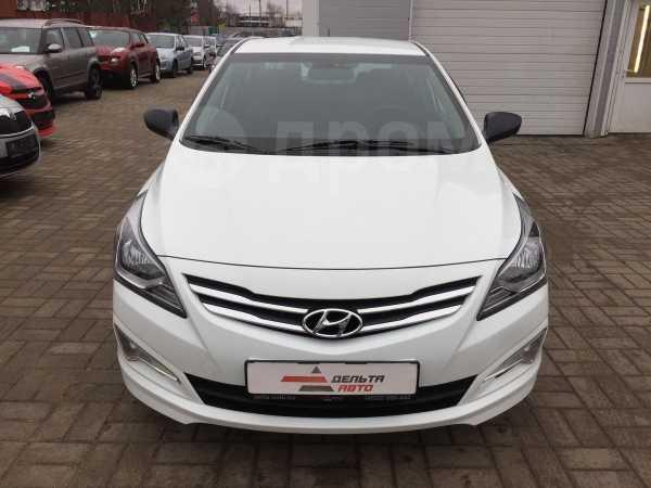 Hyundai Solaris, 2015 год, 539 000 руб.