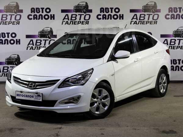 Hyundai Solaris, 2015 год, 445 000 руб.