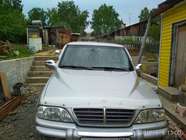SsangYong Musso Sports, 2005 год, 487 000 руб.