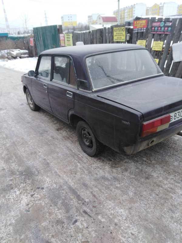 Лада 2107, 1999 год, 50 000 руб.