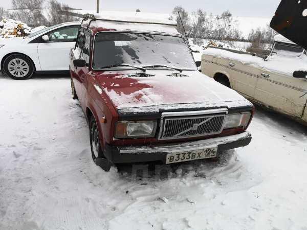 Лада 2107, 1995 год, 100 000 руб.