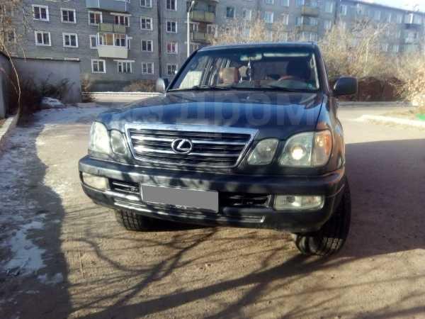Lexus LX470, 2003 год, 1 125 000 руб.