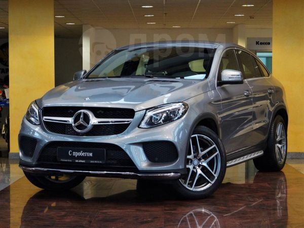 Mercedes-Benz GLE Coupe, 2016 год, 3 490 000 руб.