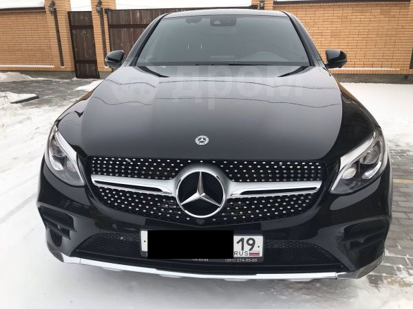 Mercedes-Benz GLC Coupe, 2017 год, 3 500 000 руб.