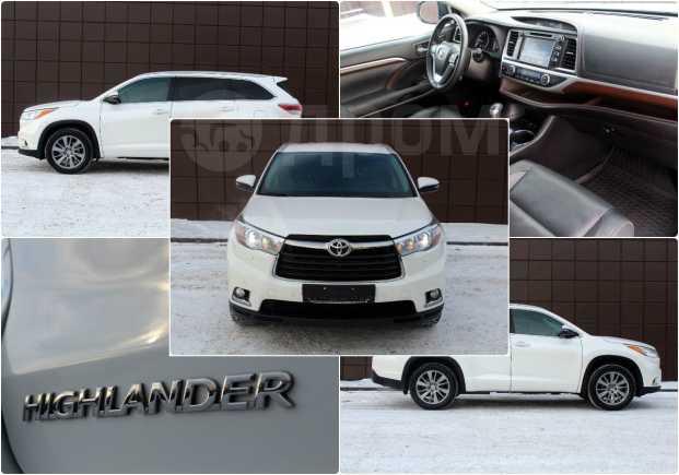 Toyota Highlander, 2015 год, 2 349 000 руб.