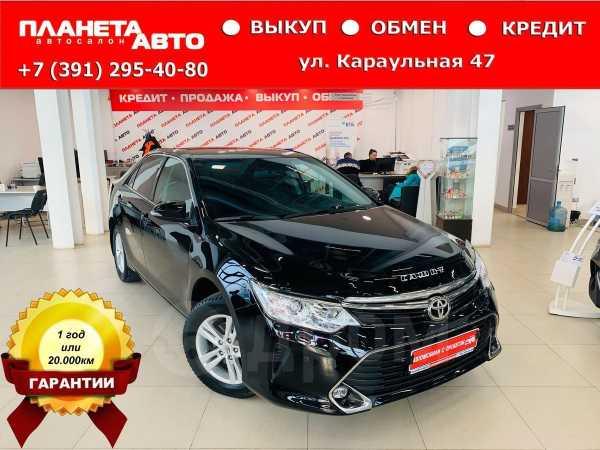 Toyota Camry, 2016 год, 1 257 000 руб.