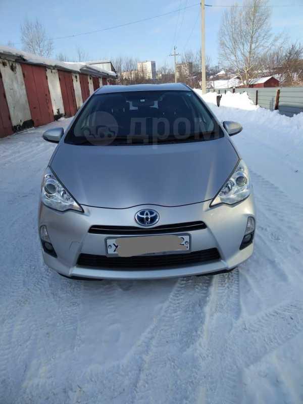 Toyota Aqua, 2014 год, 690 000 руб.