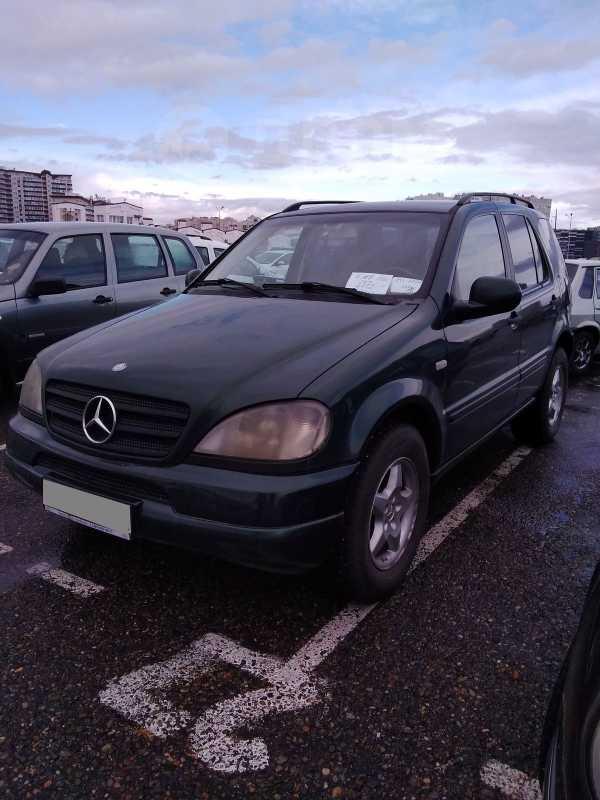 Mercedes-Benz M-Class, 2001 год, 600 000 руб.