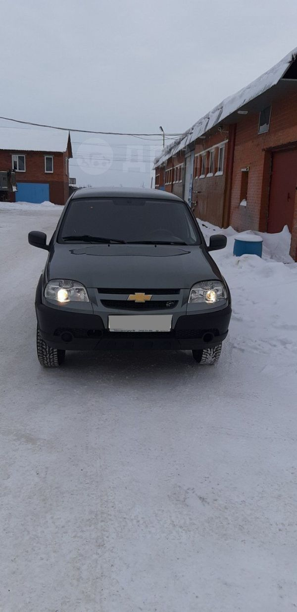 Chevrolet Niva, 2017 год, 318 000 руб.
