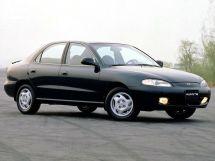 Hyundai Avante 1995, седан, 1 поколение, J2