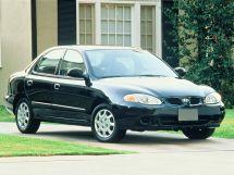 Hyundai Elantra рестайлинг 1998, седан, 2 поколение, J2