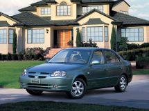 Hyundai Verna 1999, седан, 1 поколение, LC