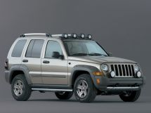 Jeep Liberty рестайлинг, 1 поколение, 07.2004 - 06.2007, Джип/SUV 5 дв.