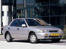 Kia Sephia 1992, седан, 1 поколение