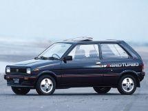 Subaru Rex рестайлинг 1984, хэтчбек 3 дв., 2 поколение