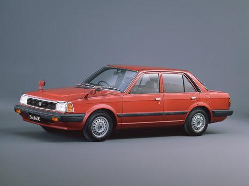 Honda Ballade 1982 - 1983