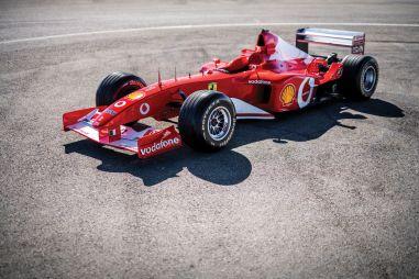 Неизвестный купил скандальную Ferrari F2002 Михаэля Шумахера