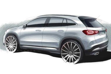 Опубликован тизер нового Mercedes-Benz GLA