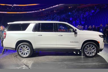 GM отказался от неразрезного моста в новых Chevrolet Tahoe / Suburban