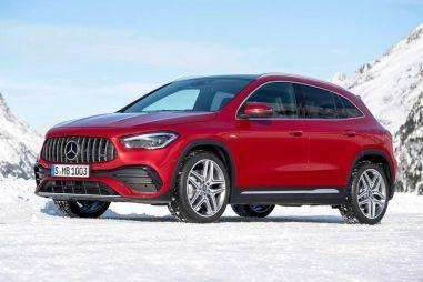В новом поколении Mercedes-Benz GLA перестал быть хэтчбеком