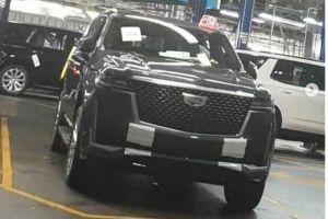 В Сеть попали первые фото Cadillac Escalade нового поколения