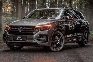 Volkswagen Touareg раскочегарили до 500 дизельных сил