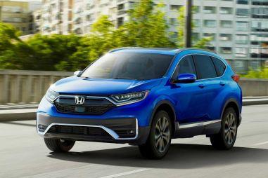 Honda привезет в Россию обновленный кроссовер CR-V