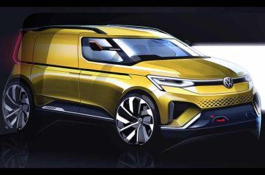 Новый Volkswagen Caddy получит неожиданный дизайн (первые эскизы)