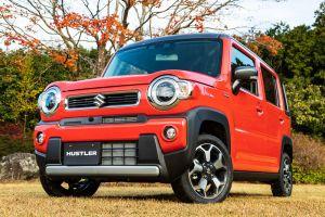 Suzuki Hustler второго поколения изменился, но сохранил фирменный стиль