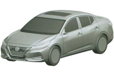 Nissan запатентовал в России новый седан Sentra
