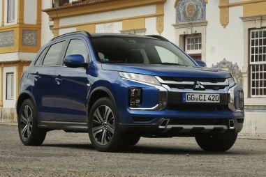 В России скоро появится обновленный Mitsubishi ASX