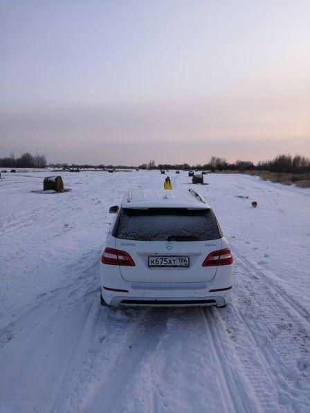 Mercedes-Benz M-Class 2014 - отзыв владельца
