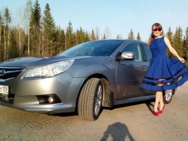 Subaru Legacy 2011 отзыв автора | Дата публикации 23.12.2019.