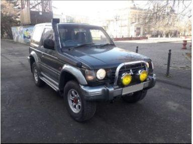 Mitsubishi Pajero 1993 отзыв автора | Дата публикации 16.12.2019.