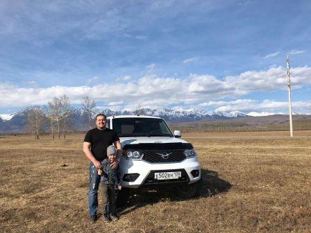 УАЗ Патриот 2017 - отзыв владельца