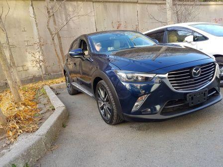 Mazda CX-3 2015 - отзыв владельца