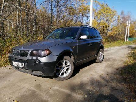 BMW X3 2004 - отзыв владельца