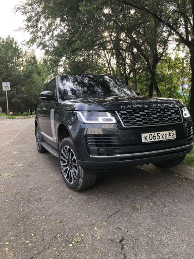 Range Rover 2018 отзыв автора | Дата публикации 29.12.2019.