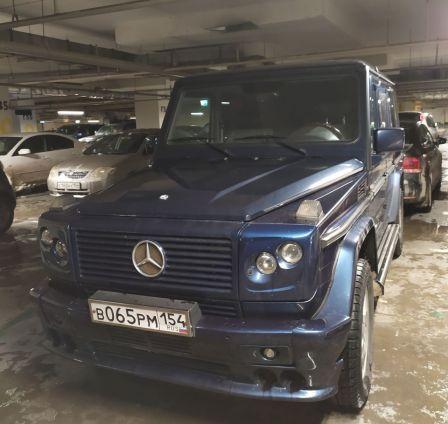 Mercedes-Benz G-Class 2000 - отзыв владельца