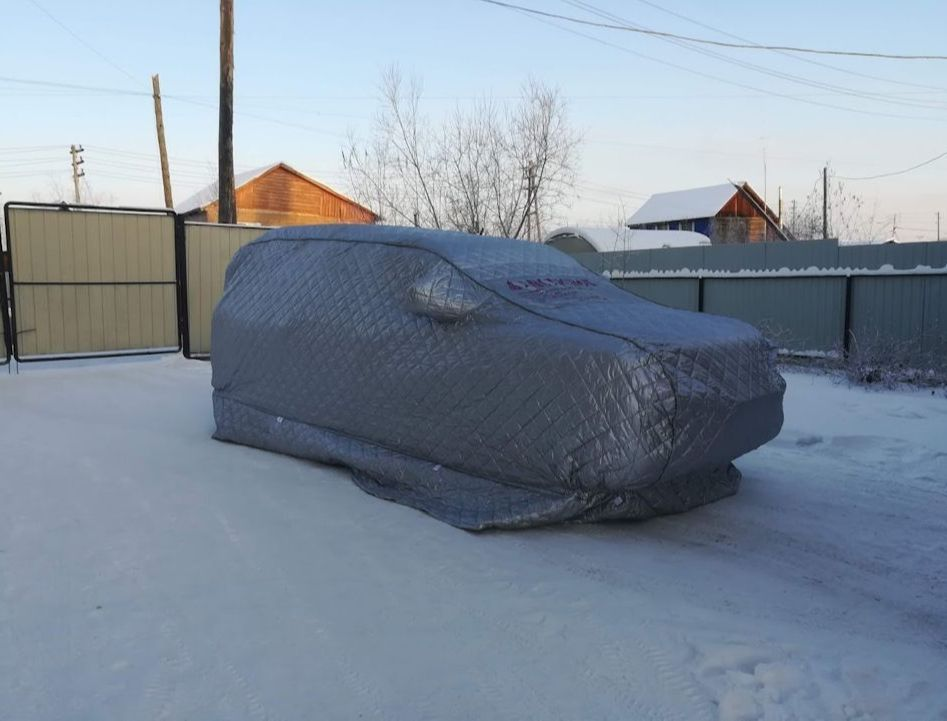 Зимний тренд в Якутии — портативные гаражи Наташа, Арктикбокс, Хоту-тент и т.д.