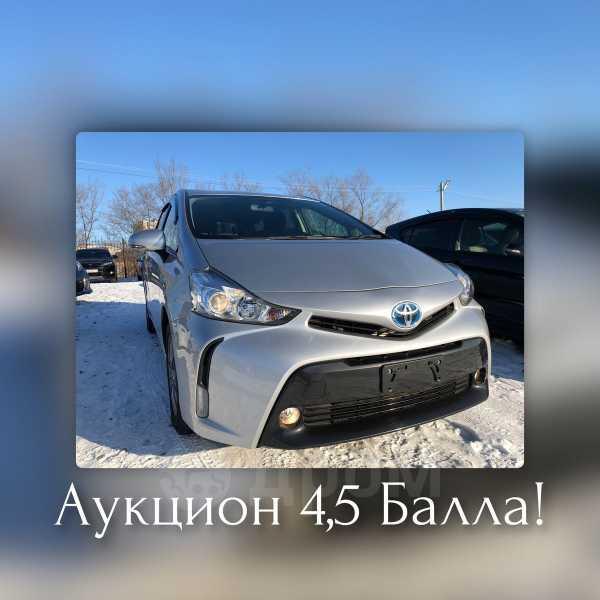 Toyota Prius a, 2015 год, 1 115 000 руб.