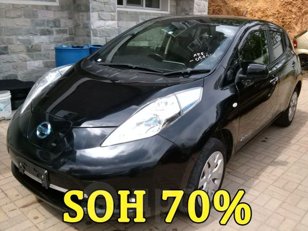 Nissan Leaf, 2013 год, 398 000 руб.