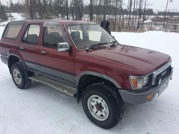 Toyota Hilux Surf, 1990 год, 310 000 руб.