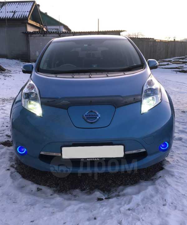 Nissan Leaf, 2013 год, 385 000 руб.
