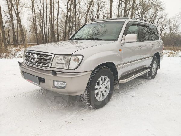 Toyota Land Cruiser, 2002 год, 1 047 000 руб.