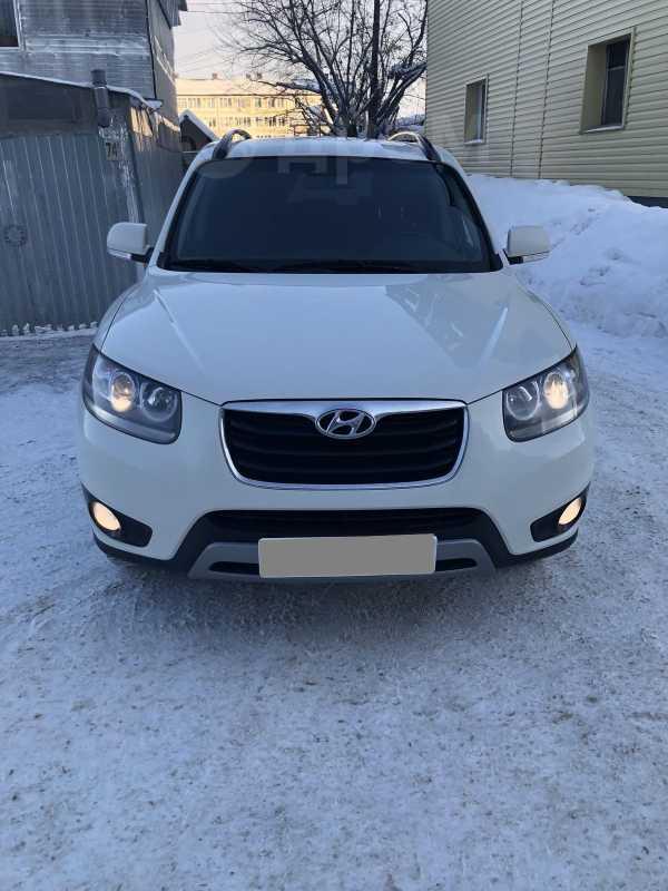 Hyundai Santa Fe, 2012 год, 880 000 руб.