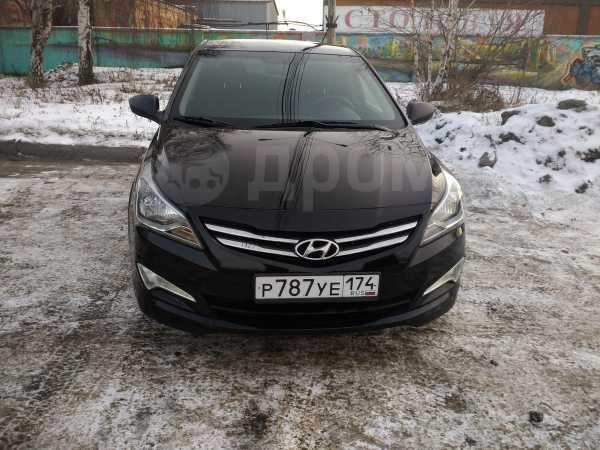 Hyundai Solaris, 2016 год, 525 000 руб.